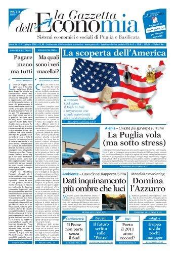 GE 22_10.indd - La Gazzetta dell'Economia