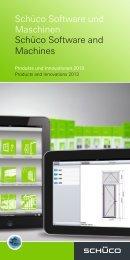 Broschüre Schüco Software und Maschinen