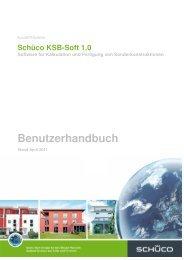 Handbuch Schüco KSB-Soft