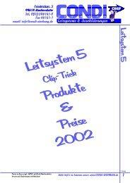 Leitsystem 5.p65 - Condi-Werbung