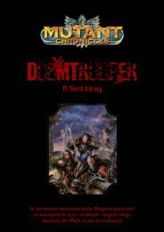 Traduzione Ambientazione Manuale GDR (ITA) - Mutant Chronicles ...