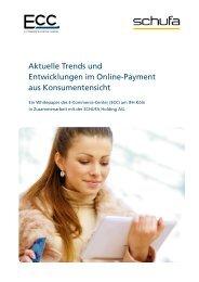 Aktuelle Trends und Entwicklungen im Online ... - ECC Handel
