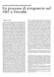 Un processo di stregoneria nel 1567 a Vetralla - Biblioteca ...