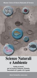 proposte storia naturale 2010-2011.pdf - Ferrara Terra e Acqua