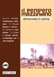 il primo precettore di Giuseppe Mazzini - Web And Cad