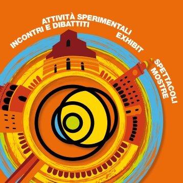 Il programma, in formato Pdf, della parte astronomica - Osservatorio ...