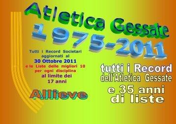 Le ALLIEVE - Atletica Gessate