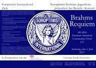 Brahms Requiem - Schuldorf