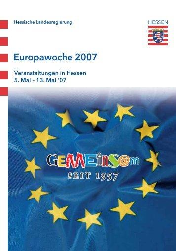 Europawoche 2007 - Schuldorf