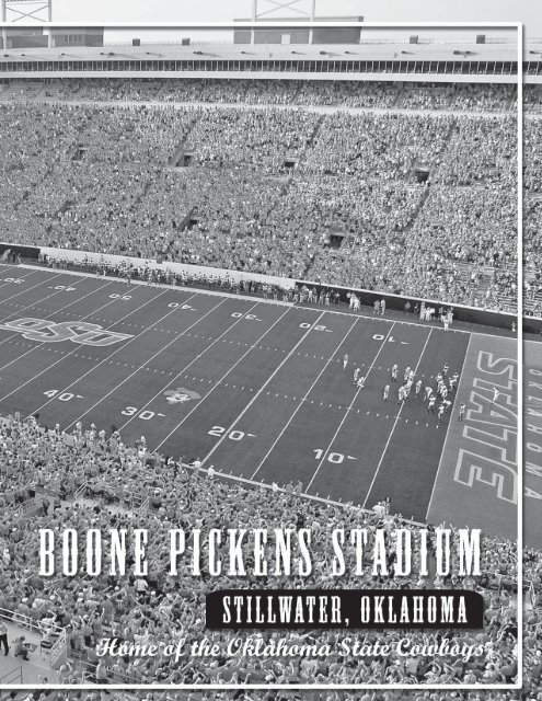 NCAA Oklahoma State Cowboys Boone Pickens Stadium Cowboys Etched Lit Musical Turning Crystal Ball