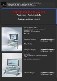 Sonderverkaufsliste Restposten 11.06.23 - Schroers and Schroers