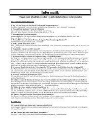 Fragen zur Theorie - Schulen in Regensburg