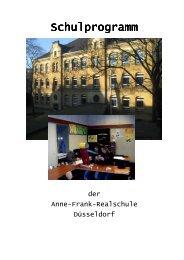 Schulprogramm Schulprogramm - Düsseldorfer Schulen im Internet