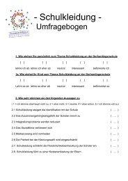 Fragebogen Schulkleidung.pdf - Schulen in Regensburg