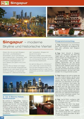 Singapur – moderne - Schulfahrt.de