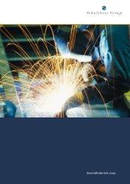 Geschäftsbericht 2009 - Schulthess Group