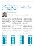 Halbjahresbericht 2005 - Schulthess Group - Page 3