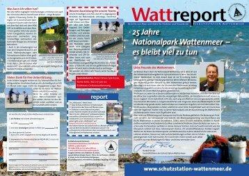 25 Jahre Nationalpark Wattenmeer – es bleibt viel zu tun
