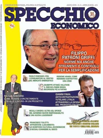 Aprile 2012 - Specchio Economico