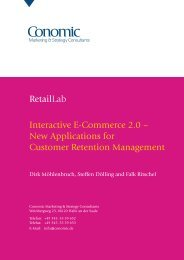 Retaillab Interactive E-Commerce 2.0 - Conomic Marketing ...