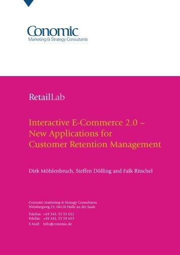 Retaillab Interactive E-Commerce 2.0 - Conomic Marketing ...