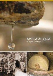 Amica acqua: dossier didattico - Regione Piemonte