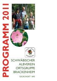 Programm-2011-10 6x15-neu.pdf - Schwäbischer Albverein