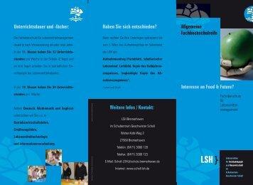 Flyer - Schulportal Bremerhaven