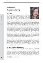 Neuromarketing - Schulstiftung der Erzdiözese Freiburg