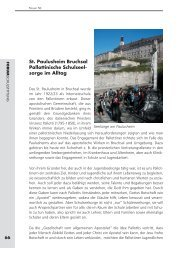 St. Paulusheim Bruchsal: Pallottinische Schulseelsorge im Alltag ...