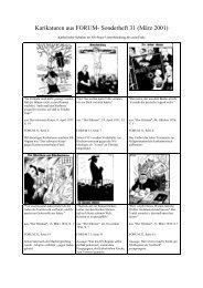 Neun Karikaturen aus NS-Organen gegen die Katholische Kirche ...