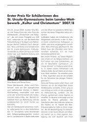 16 Preisträgerinnen Heft 48 - Schulstiftung der Erzdiözese Freiburg