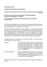 Aktueller Stand des Gemeinsamen Rundschreibens - Schwan ...