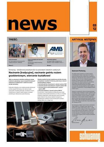Schwanog NEWS 3/12