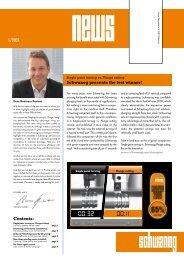 Schwanog NEWS 1/09 - schwanog.com