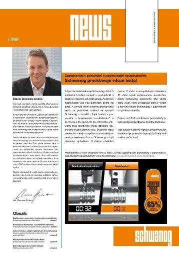 Schwanog NEWS 1/09