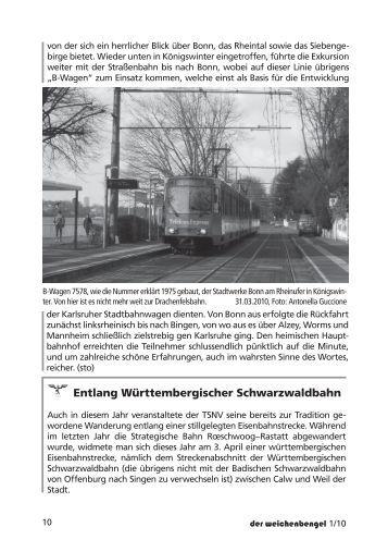  Entlang Württembergischer Schwarzwaldbahn