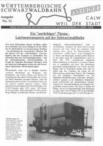 WSB-Anzeiger Nr.12