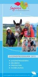 JUGENDPROGRAMM 2012 - Schwarzwaldverein