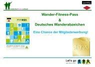Wander-Fitness-Pass - Schwarzwaldverein