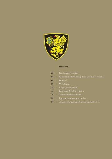 Aastaraamat 2004 (.pdf) - Kaitsepolitseiamet