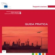 GUIDA PRATICA Trasporti e turismo - EU Bookshop - Europa