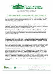 la gestione sostenibile dei rifiuti ora c'e la nuova direttiva eu