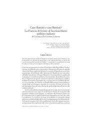 Costanza Di Ciommo Laurora Caso Battisti o casi Battisti?