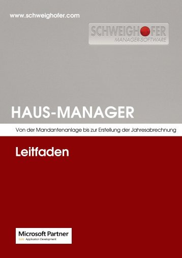 HAUS-MANAGER - SCHWEIGHOFER Manager