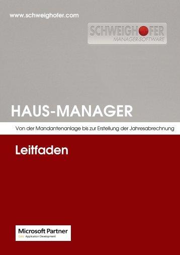 HAUS-MANAGER - SCHWEIGHOFER Manager