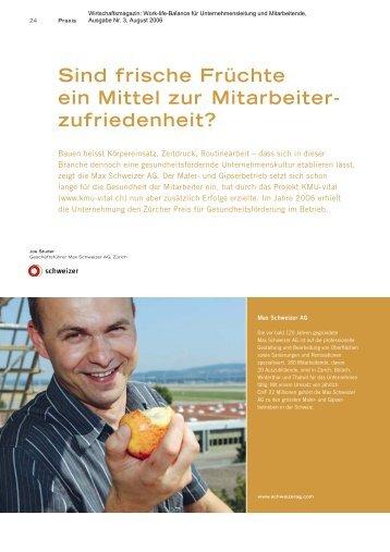 2006 Wirtschaftsmagazin - Schweizer AG
