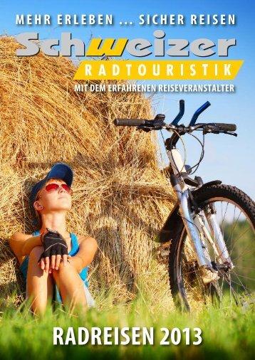 Schweizer Radkatalog 2013 als PDF zum downloaden