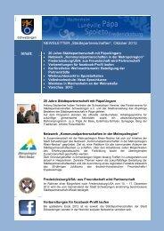 Newsletter Städtepartnerschaften 2012-01.pdf - Schwetzingen