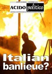 Italian banliue? - Acido Politico